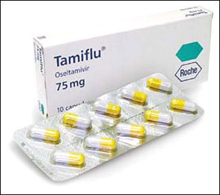 tamiflu swine flu drug