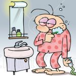 Toothbrushing in the morning – When?