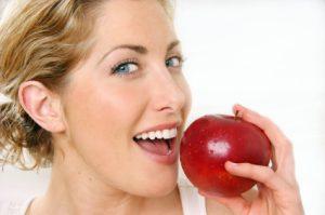 Natural Teeth Whitening Apple