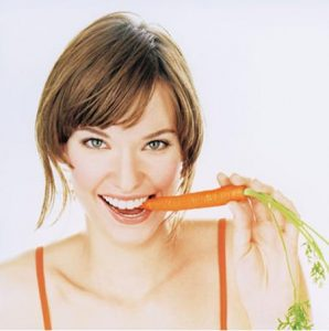 Natural Teeth Whitening Carrot